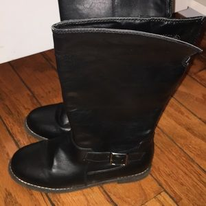 Black Girls Kids Boots